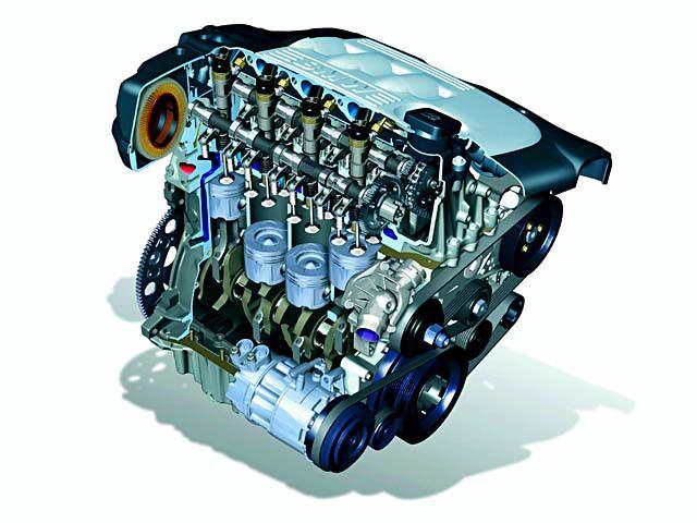 поршни двигателя