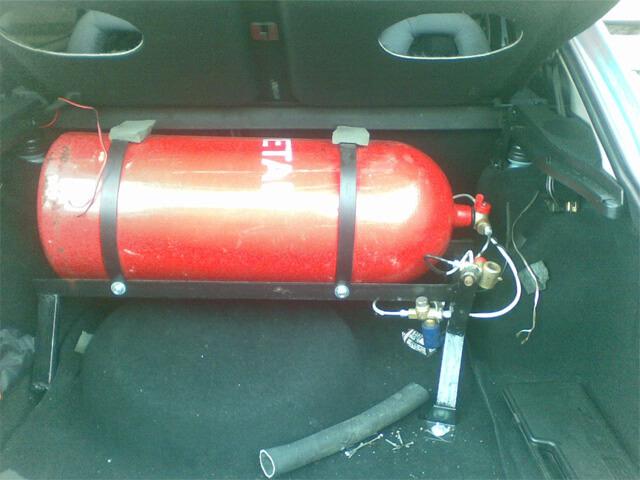 Газовое оборудование автомобиля на метане